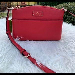 Little red crossbody bag